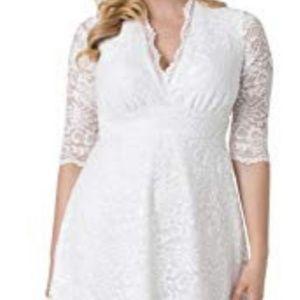 Kiyonna Wedding Belle Dress
